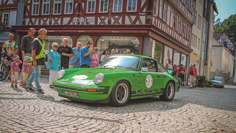 911 (model year 1978), Classic Car Rally, 2018, Porsche AG