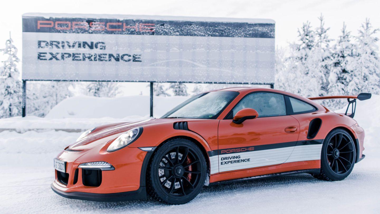 911 GT3 RS, Porsche Driving Experience Winter, Levi, Finnland, 2016, Porsche AG