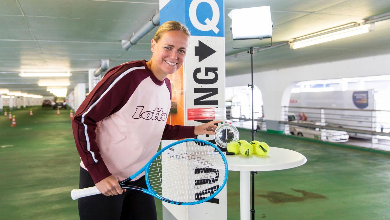 Anna-Lena Groenefeld, Porsche Tennis Grand Prix, Parking Challenge, 2019, Porsche AG