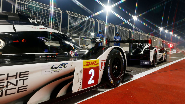 919 Hybrid, qualifying, WEC, Bahrain, 2016, Porsche AG