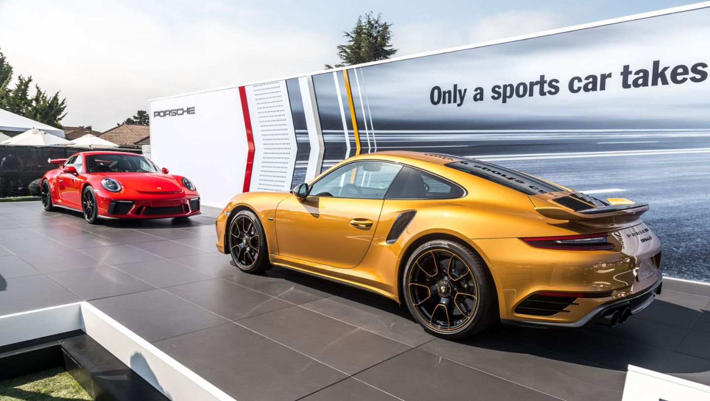 911 Turbo S Exclusive Series, 911 GT3, Mazda Raceway Laguna Seca, Monterey 2017, Porsche AG