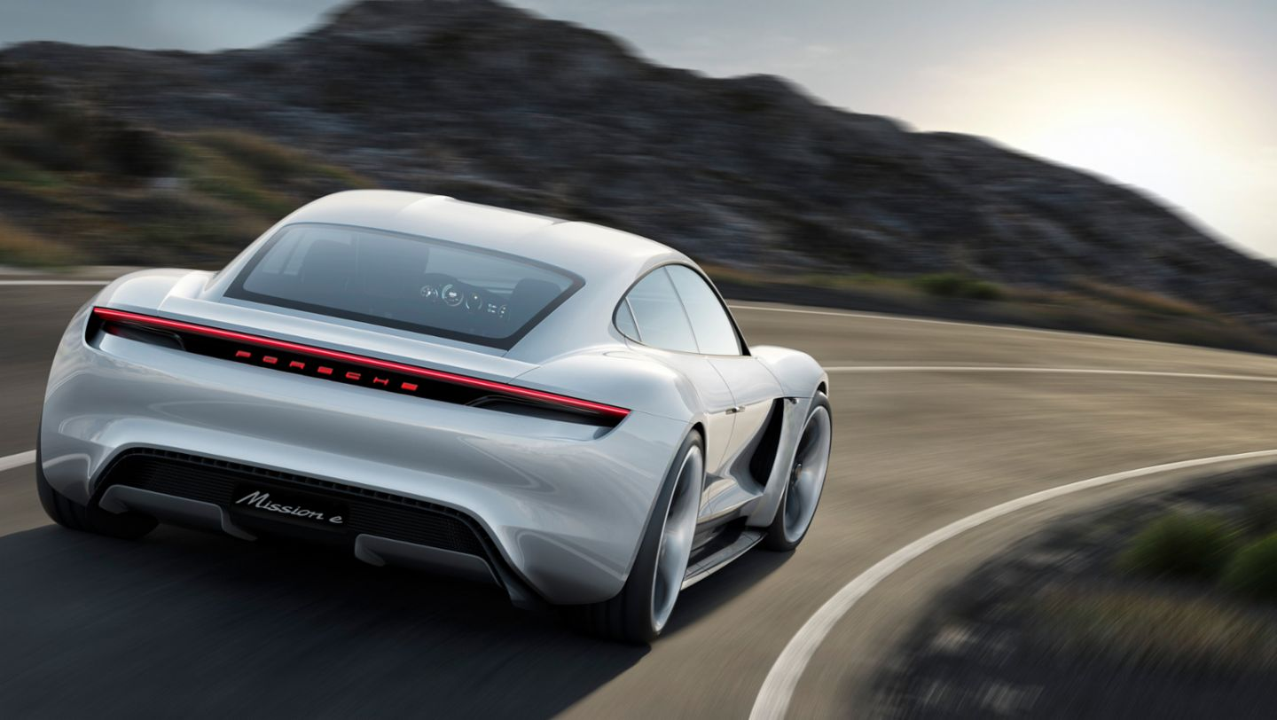 Mission E, Concept car, 2015, Porsche AG