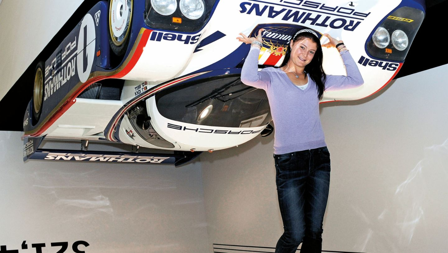 Stay on top! Russian Dinara Safina checks the downforce (2009)