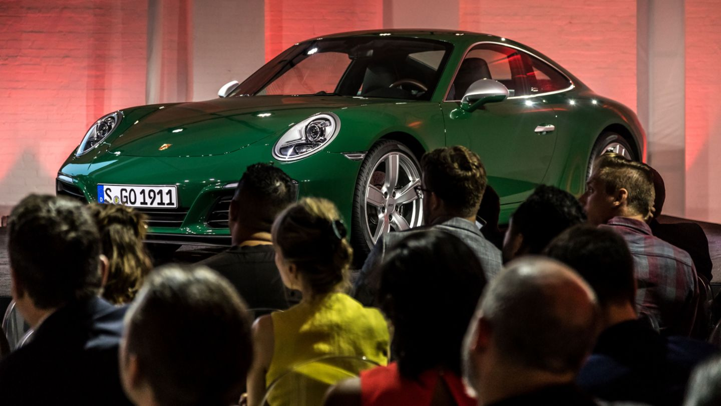 One millionth 911, Design Forum, New York City, 2017, Porsche AG