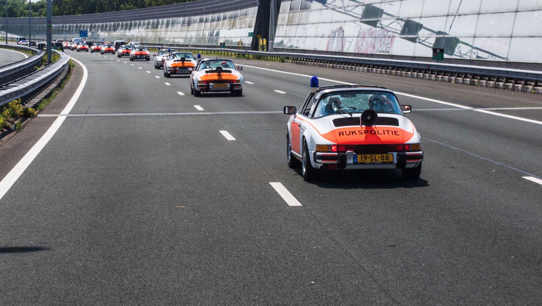 911 Targa, Rijkspolitie, police, Netherlands, 2017, Porsche AG