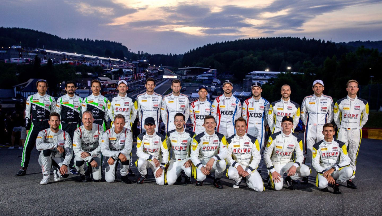 Porsche drivers, 24 Hours of Spa, 2019, Porsche AG