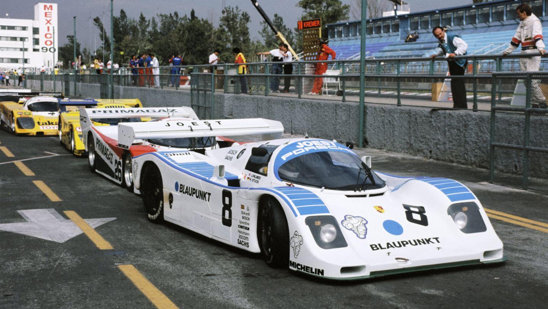 Porsche 962 C, 480-kilometre race Mexiko City, 1990, Porsche AG