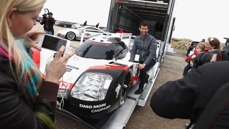 Mark Webber, 919 Hybrid, Grand Opening of Porsche on Sylt, Sylt, Germany, 2017, Porsche AG