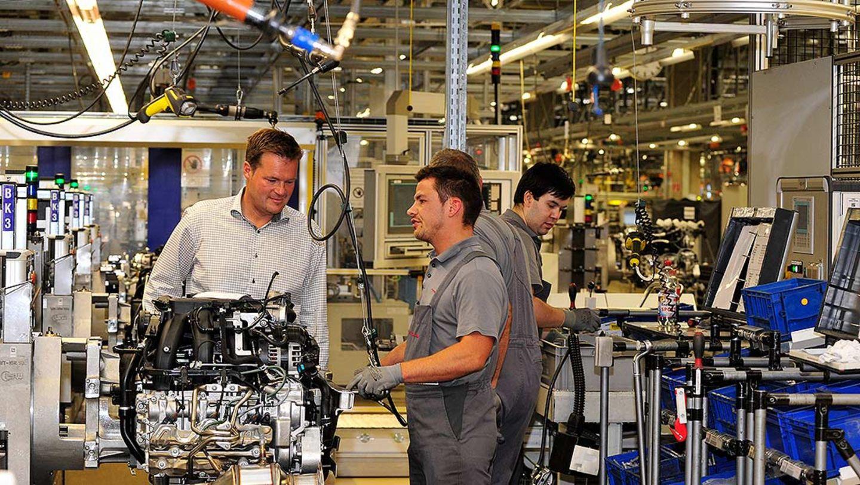 Produktion 911 Carrera 4S Cabriolet: Engine plant
