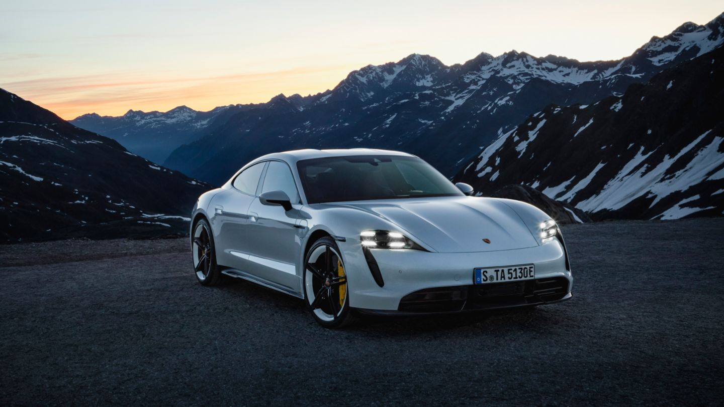 Taycan Turbo S, 2019, Porsche AG