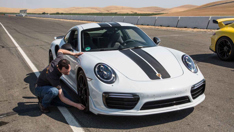 911 Turbo S Exclusive Series, Thunderhill Raceway Park, 2017, Porsche AG