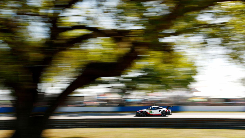 911 RSR, Qualifying, 6. Lauf, WEC, Sebring, 2019, Porsche AG