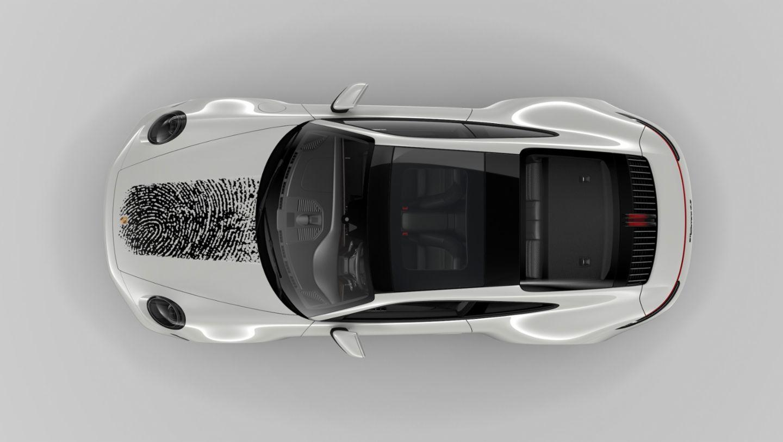 911, Direct printing method, 2020, Porsche AG