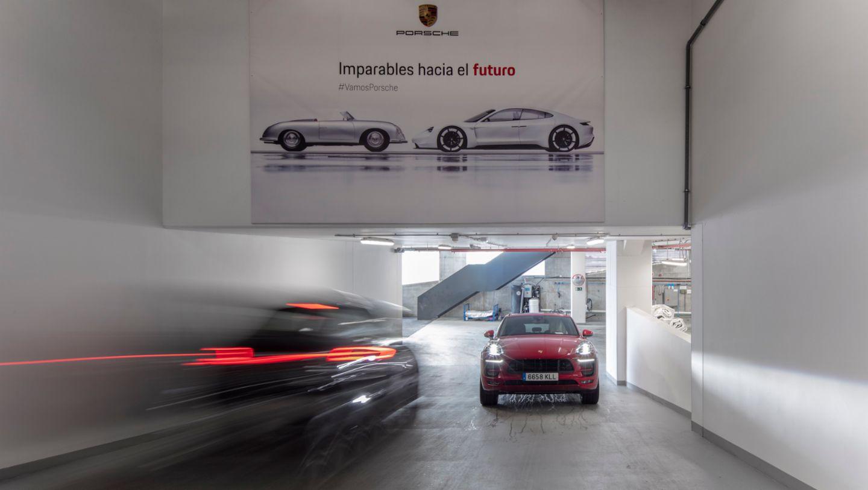 Exposición y taller, Porsche Ibérica, Madrid, 2019, Porsche Ibérica