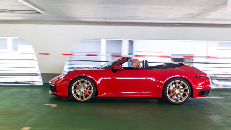 911 Carrera 4S Cabriolet, Donna Vekić, Porsche Tennis Grand Prix, Parking Challenge, 2019, Porsche AG