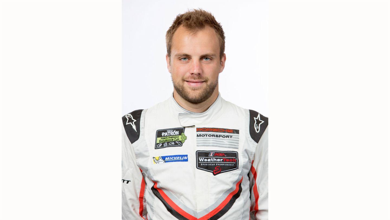Laurens Vanthoor, works driver, 2017, Porsche AG