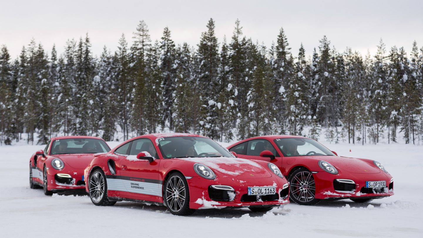 911 Turbo, Porsche Driving Experience, Ice Force, Levi, Finnland, 2015, Porsche AG