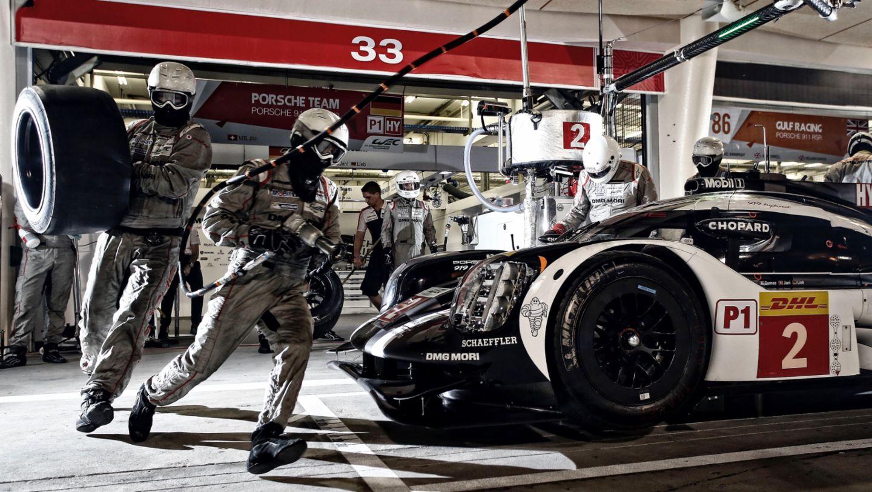 919 Hybrid, free practice, WEC, Bahrain, 2016, Porsche AG