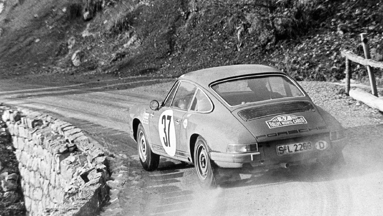Björn Waldegård, 911 S, Rallye Monte-Carlo, Monte Carlo, 1969, Porsche AG