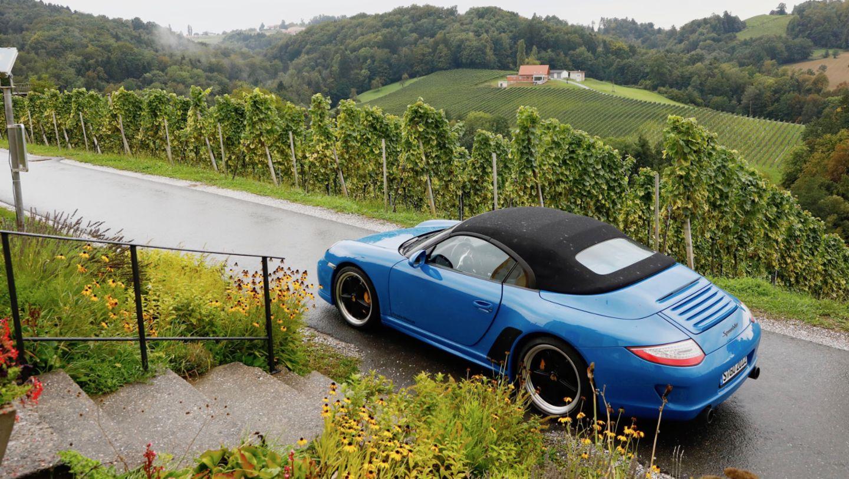 997 Speedster, Steiermark, 2018, Porsche AG