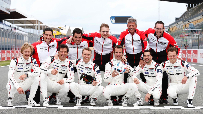 Porsche Team, WEC, Le Mans, 2016, Porsche AG
