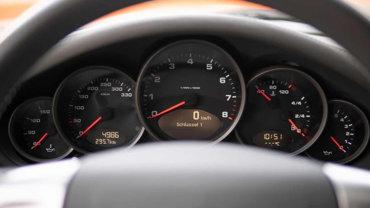 911 Targa 4 (997), rev counter, Porsche AG