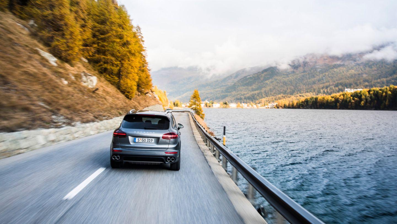 Cayenne S, Alpentour Stuttgart-Turin, 2016, Porsche AG