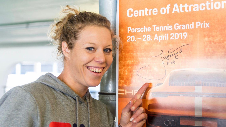 Laura Siegemund, Porsche Tennis Grand Prix, Parking Challenge, 2019, Porsche AG