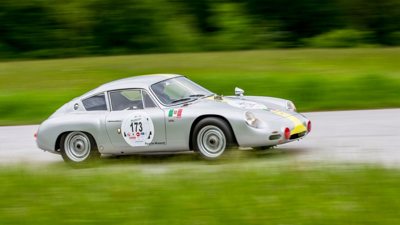 Porsche 356 B 2000 GS Carrera GTL Abarth, Gaisberg, 2019, Porsche AG