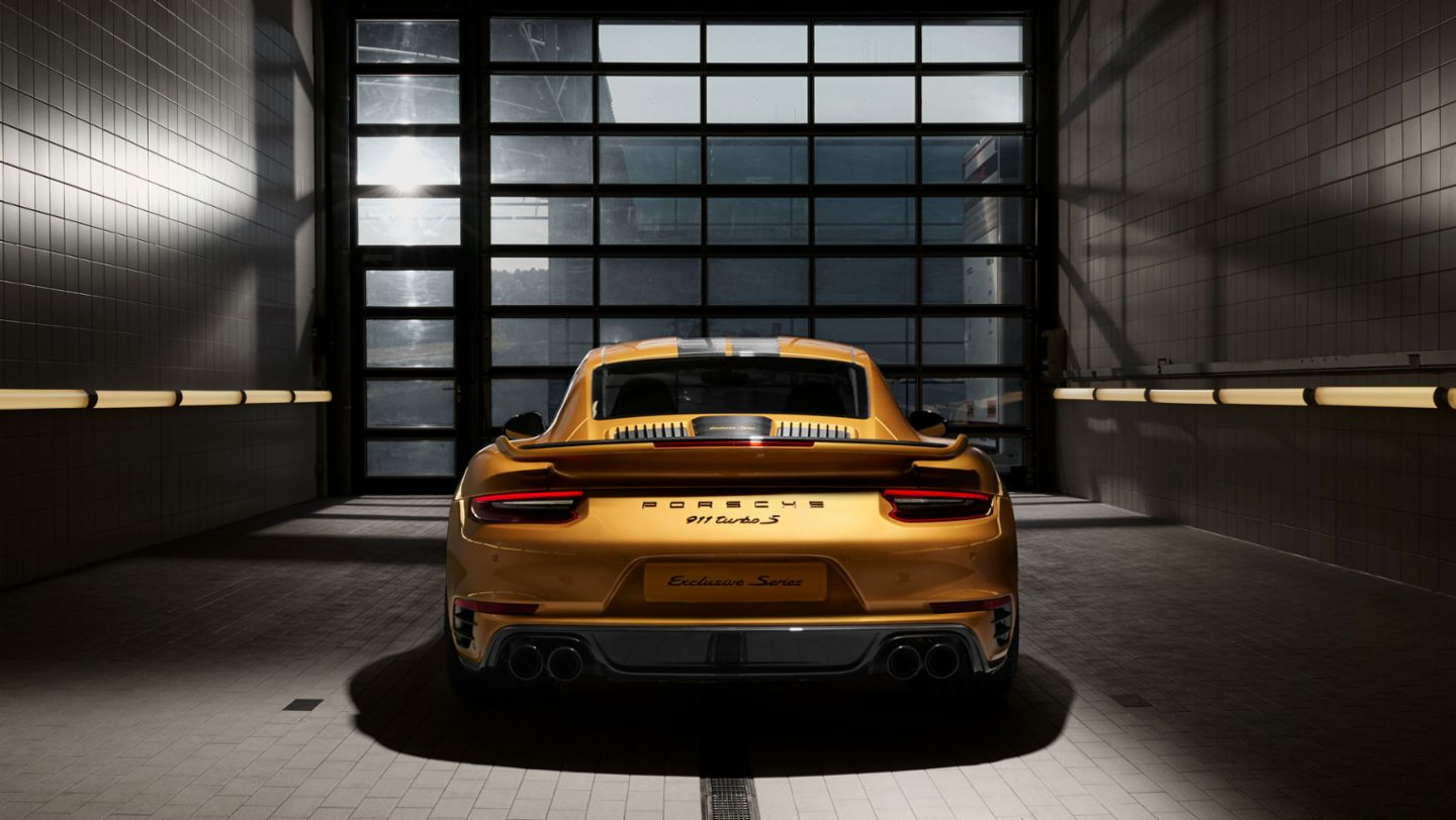 911 Turbo S Exclusive Series, Porsche calender 2018, Porsche AG