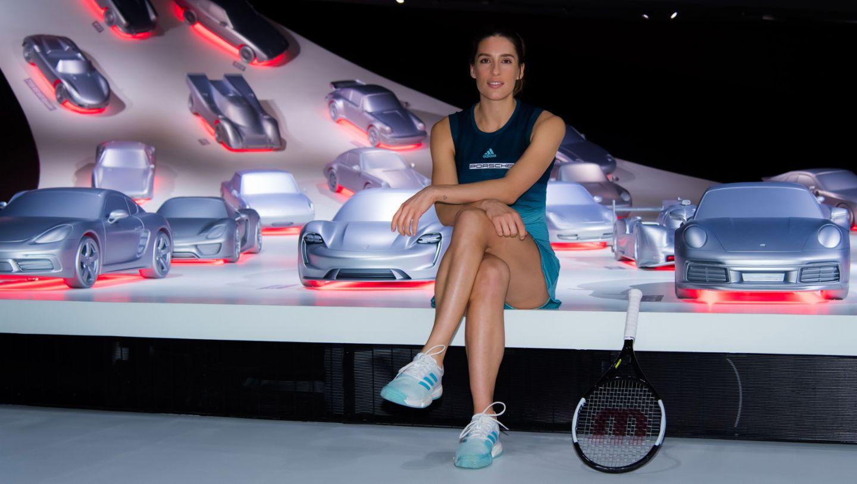 Andrea Petkovic, Porsche Team Deutschland, Porsche Pavillon, Autostadt Wolfsburg, 2019, Porsche AG