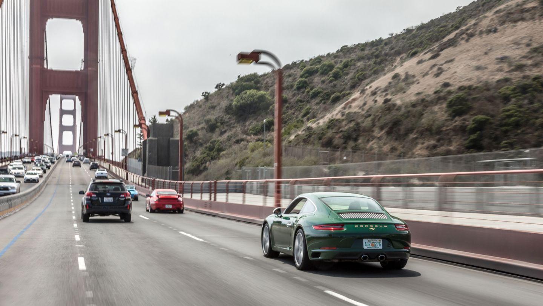 Einmillionster 911, Golden Gate Bridge, 2017, Porsche AG