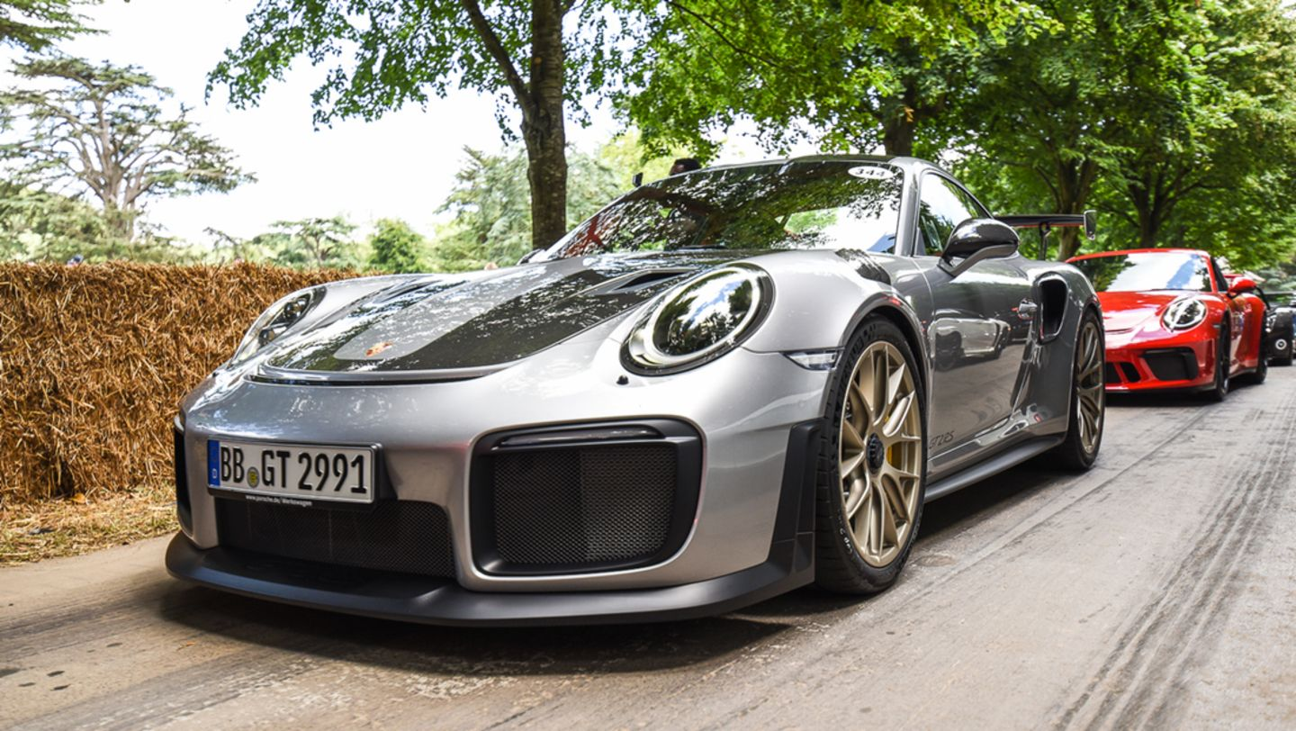 911 GT2 RS, Festival of Speed, Goodwood, Great Britain, 2017, Porsche AG
