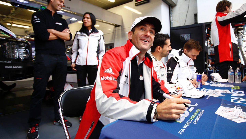 Romain Dumas, Neel Jani, Marc Lieb, l-r, Porsche 919 Hybrid, WEC, Le Mans, 2016, Porsche AG