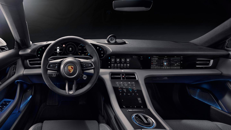 Taycan, interior, 2019, Porsche AG