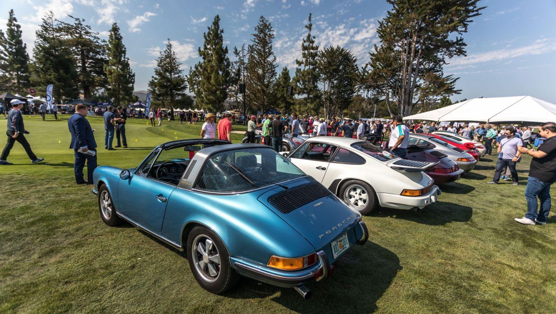 1970 911 S Targa, Monterey Historics, Mazda Raceway Laguna Seca, Monterey 2017, Porsche AG