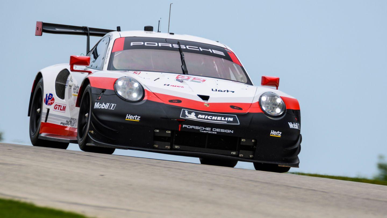 911 RSR, IMSA WeatherTech SportsCar Championship, Road America, Qualifying, 2018, Porsche AG