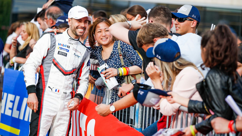 Frederic Makowiecki (F), Porsche GT Team, Fahrerparade, FIA WEC, Le Mans, 2019, Porsche AG