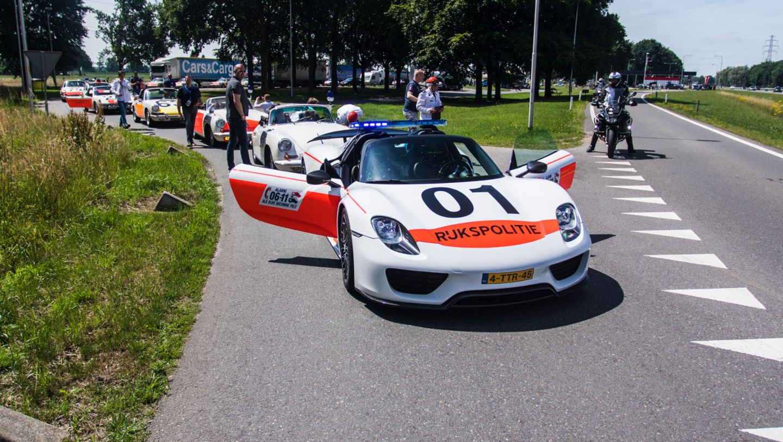 918 Spyder, Rijkspolitie, police, Netherlands, 2017, Porsche AG