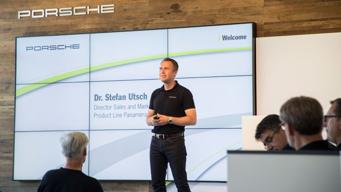 Dr Stefan Utsch, Director Sales and Marketing, Product Line Panamera, Vancouver Island Motorsport Circuit, Canada, 2017, Porsche AG