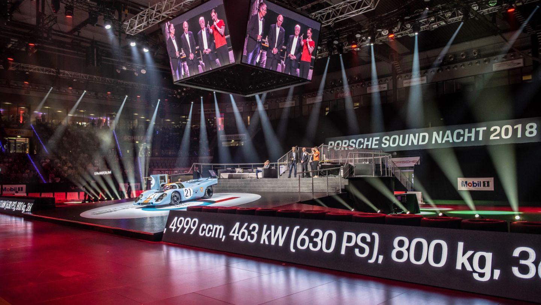 Porsche 917 KH, восьмая ночь звуков Porsche Sound Nacht, Porsche Arena, 2018, Porsche AG