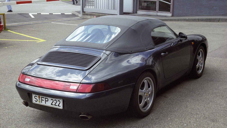 911 Carrera 3,6 Speedster, Porsche Werk 2, Zuffenhausen, 1995, Porsche AG
