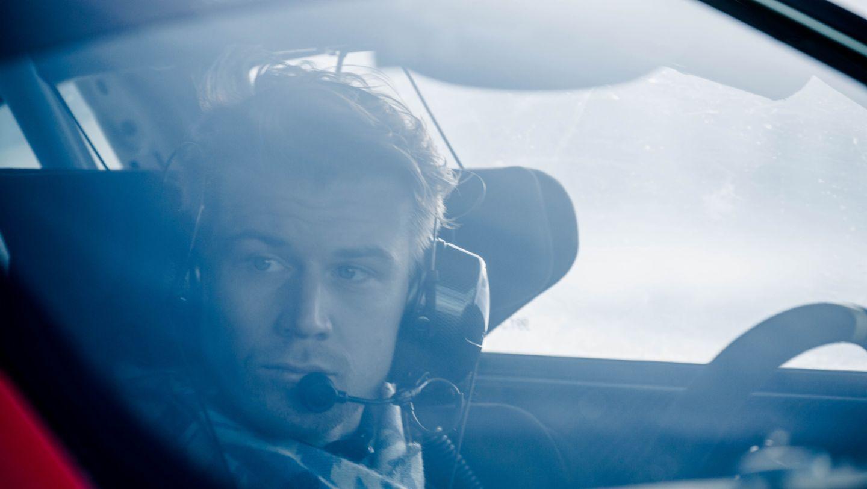 Nico Hülkenberg, Porsche Driving Experience Winter, Levi, Finnland, 2016, Porsche AG