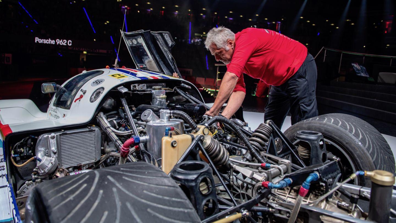 Восьмая ночь звуков Porsche Sound Nacht, Porsche Arena, 2018, Porsche AG