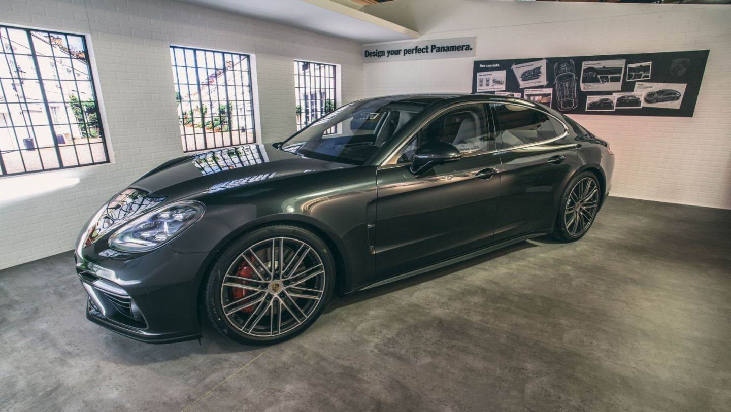 Panamera, Goodwood Revival, 2016, Porsche AG