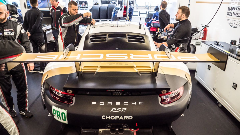 Porsche GT Team, 911 RSR, Rennvorbereitung, FIA WEC, Le Mans, 2019, Porsche AG