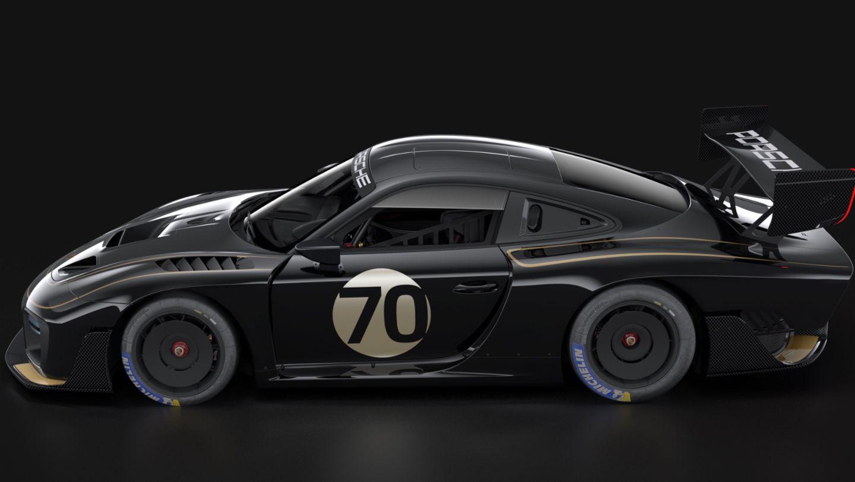 Porsche 935, livery JPS, 2019, Porsche AG