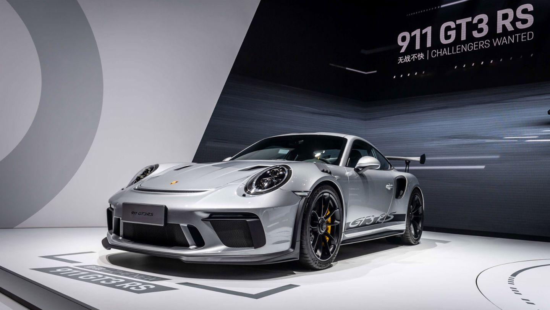 新款 911 GT3 RS 于北京车展亚洲首秀