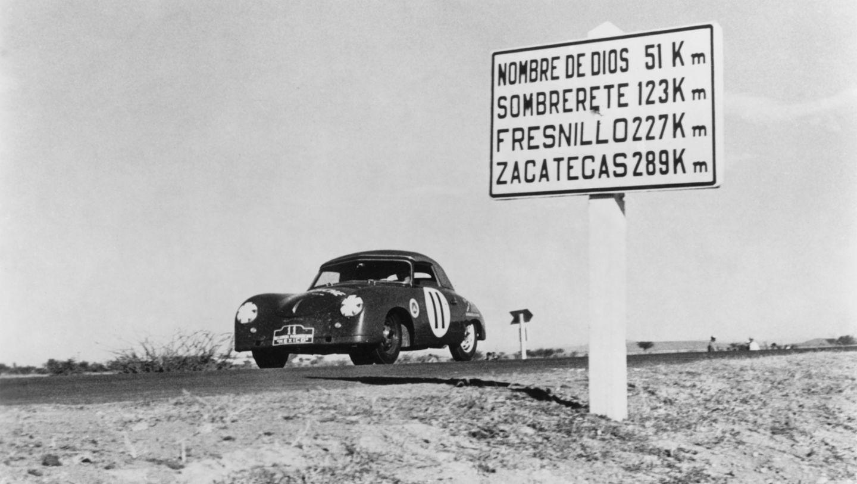 Porsche 356 1500 S Cabrio, Carrera Panamericana, 1952, Porsche AG