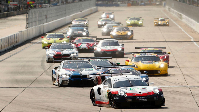 911 RSR, Porsche GT Team, Rennen, 6. Lauf, WEC, Sebring, 2019, Porsche AG